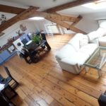 LOUISE-Apt charme meublé +/-120m2 – 2 ch.- séjour-mezzanine
